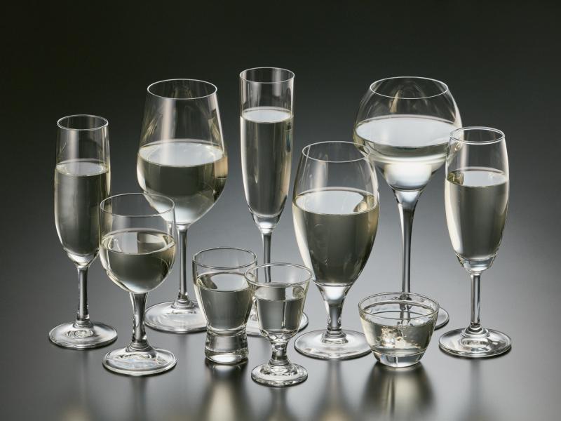 グラスを選んで楽しもう