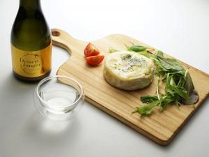 デザート純吟 × ガーリック焼カマンベールチーズ
