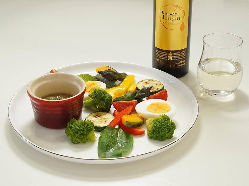 デザート純吟 × 野菜のアンショワード
